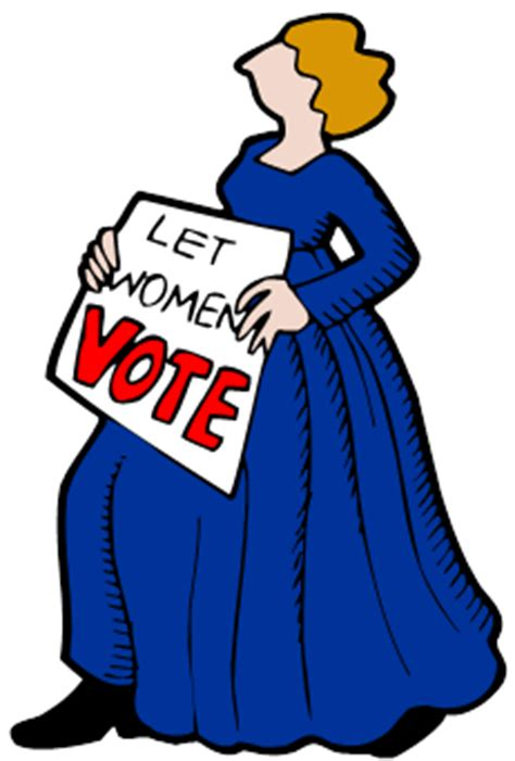 Womens Right to Vote - Want to know